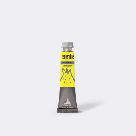 TEMPERA FINE 20 ML 116 PRIMARY YELLOW