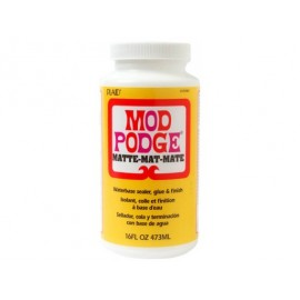 MEDIUM MODGE PODGE 3 W 1 MAT 473 ML