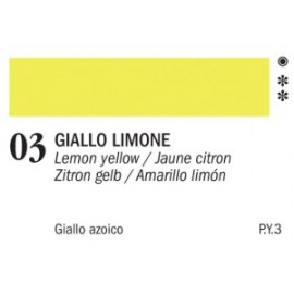 AKRYL MASTER 03 LEMON YELLOW 60 ML