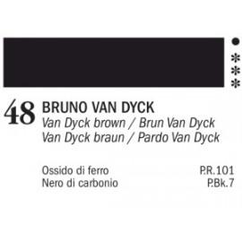 AKRYL MASTER 48 VAN DYCK BROWN 60 ML
