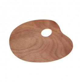 Paleta malarska drewniana mała