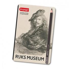 Ołówek kpl. 12 szt. Bruynzeel Rijsk Museum zestaw artystyczny