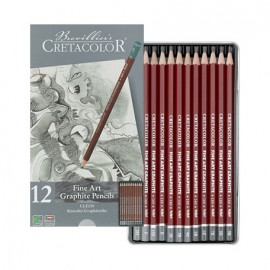 Ołówek kpl. 12 szt Cretacolor zestaw artystyczny