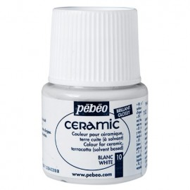 PEBEO CERAMIC - FARBA DO CERAMIKI 45 ML NR 10 WHITE