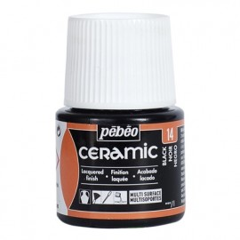 PEBEO CERAMIC - FARBA DO CERAMIKI 45 ML NR 14 BLACK