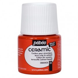PEBEO CERAMIC - FARBA DO CERAMIKI 45 ML NR 23 ORANGE