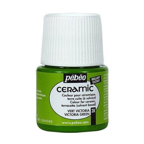 PEBEO CERAMIC - FARBA DO CERAMIKI 35 ML NR 28 VICTORIA GREEN