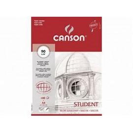 Blok szkicowy Canson A4 90g 100k