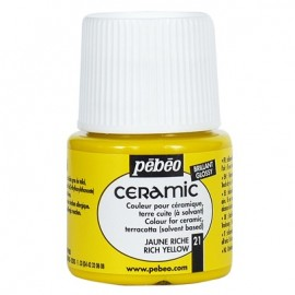 PEBEO CERAMIC - FARBA DO CERAMIKI 45 ML NR RICH YELLOW