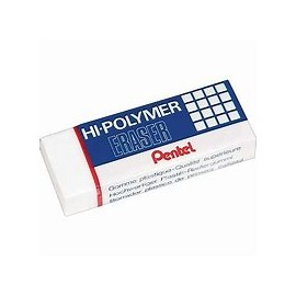 Gumka Pentel Hi-Polymer duża ZEH10