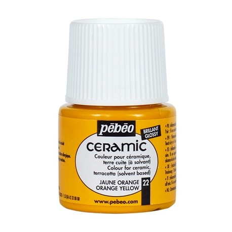 PEBEO CERAMIC - FARBA DO CERAMIKI 45 ML NR 22 ORANGE YELLOW