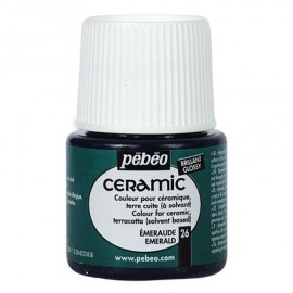 PEBEO CERAMIC - FARBA DO CERAMIKI 45 ML NR 26 EMERALD