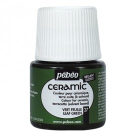 PEBEO CERAMIC - FARBA DO CERAMIKI 45 ML NR 27 LEAF GREEN