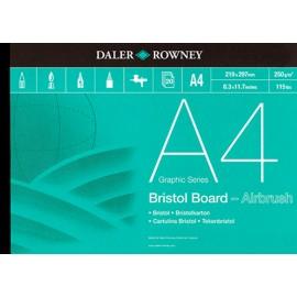 Blok Bristol Board Airbrush A-4 250gr 20k Rowney