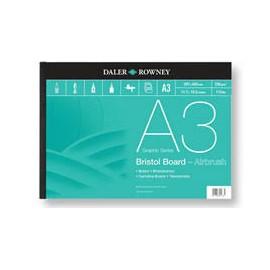 Blok Bristol Board Airbrush A-3 250gr 20k Rowney