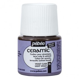 PEBEO CERAMIC - FARBA DO CERAMIKI 45 ML NR 36 LIGHT VIOLET