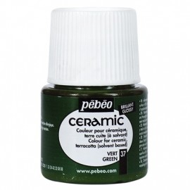 PEBEO CERAMIC - FARBA DO CERAMIKI 45 ML NR 37 GREEN