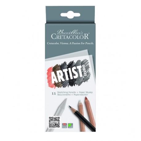 Zestaw szkicowy Artist Studio 11szt. kpl. Cretacolor