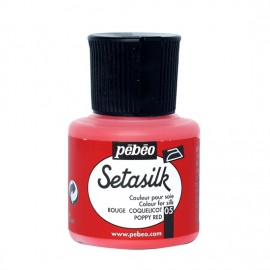 FARBA DO JEDWABIU SETASILK 45ML - 05 POPPY RED