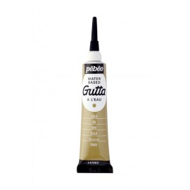 GUTTA DO JEDWABIU 20 ML PEBEO GOLD
