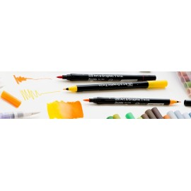 Brush Pen Kuretake Zig Art & Graphic Twin