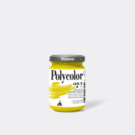 POLYCOLOR 140 ML 083 CADMIUM YELLOW MEDIUM
